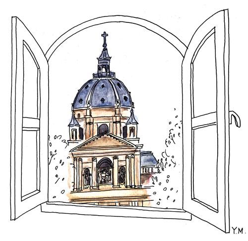 Université de Paris-Sorbonne by Yukié Matsushita