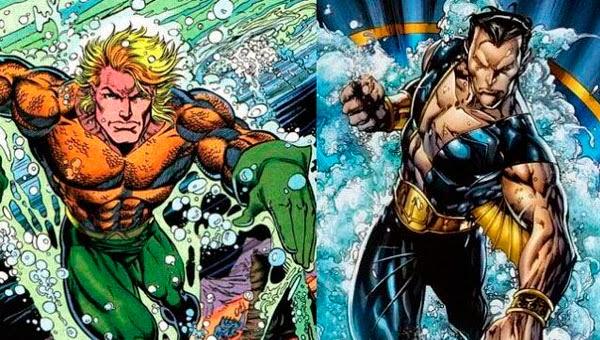 Aquaman / Namor reyes de los siete mares