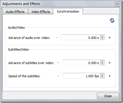 Synchronization in  VLC , VLC features, vlc player, vlc usage,