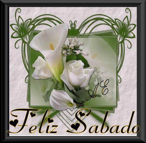 tarjetas de feliz sabado con rosas