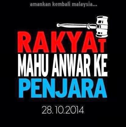 Hakim Negara mahu Anwar ke penjara