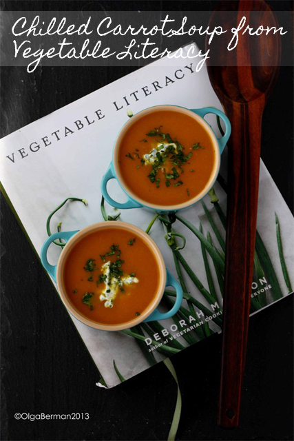 Mango & Tomato: Chilled Spicy Carrot Soup with Yogurt Sauce Recipe ...