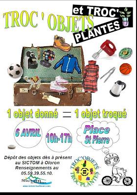 Troc Objets / Troc Plantes à Oloron