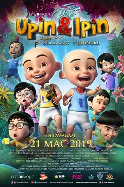 21 MAC 2019 - UPIN & IPIN : KERIS SIAMANG TUNGGAL (MALAY)