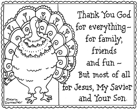 Angels of heart 10 coloring pages of thanks for Christian thanksgiving coloring pages for kids