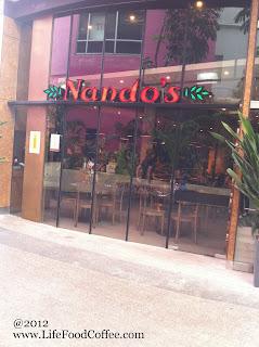 Nandos at Tampines Mall, Singapore