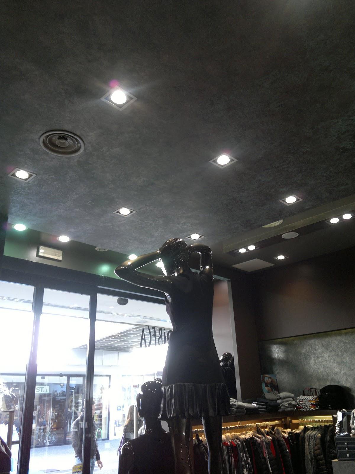 Illuminazione Led casa: Illuminazione a LED per Tribeca Abbigliamento