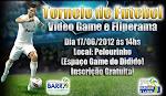 A Secretaria de Esportes realiza neste final de semana torneio de videogame Futebol e Fliperama.