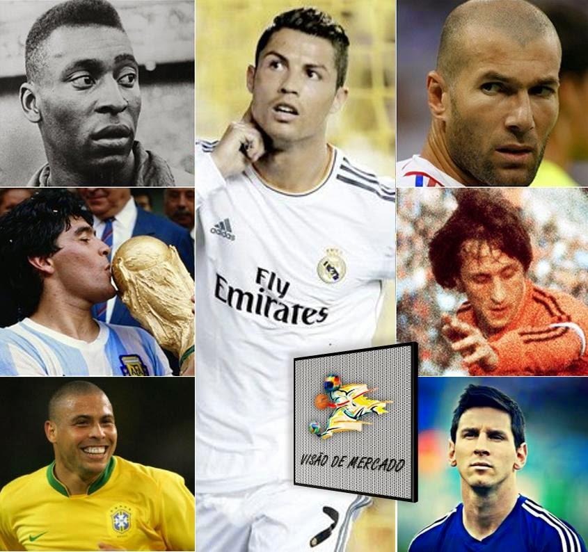 """Cristiano Ronaldo vence Bola de Ouro 2014  Melhor português de sempre  iguala Zidane e """"Fenómeno"""" 8d76973a3cbbc"""