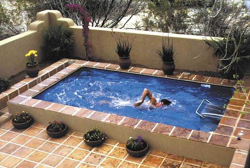 Backyard small swimming pool designs backyard design ideas for Backyard pool design ideas