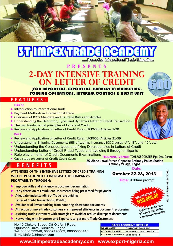 Nigeria Trade Info Portal 2013