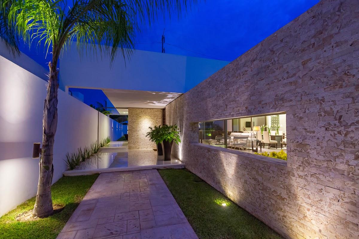 Apuntes revista digital de arquitectura proyecto casa for Casas modernas interior y exterior