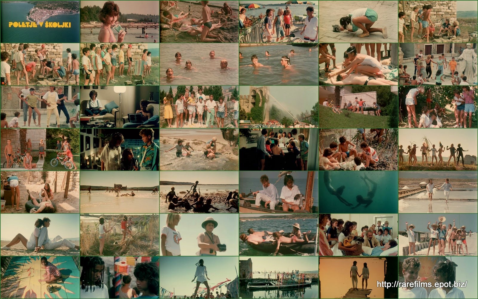 Лето в раковине / Poletje v školjki / A Summer in a sea-shell.