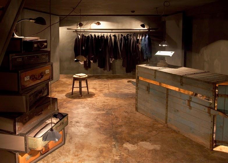 Hostem Store,Londres, chalkroom, por JamesPlumb