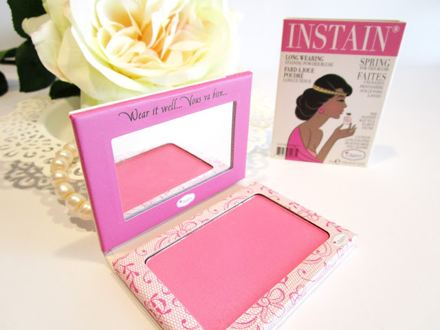 Instain Blush The Balm tono Lace