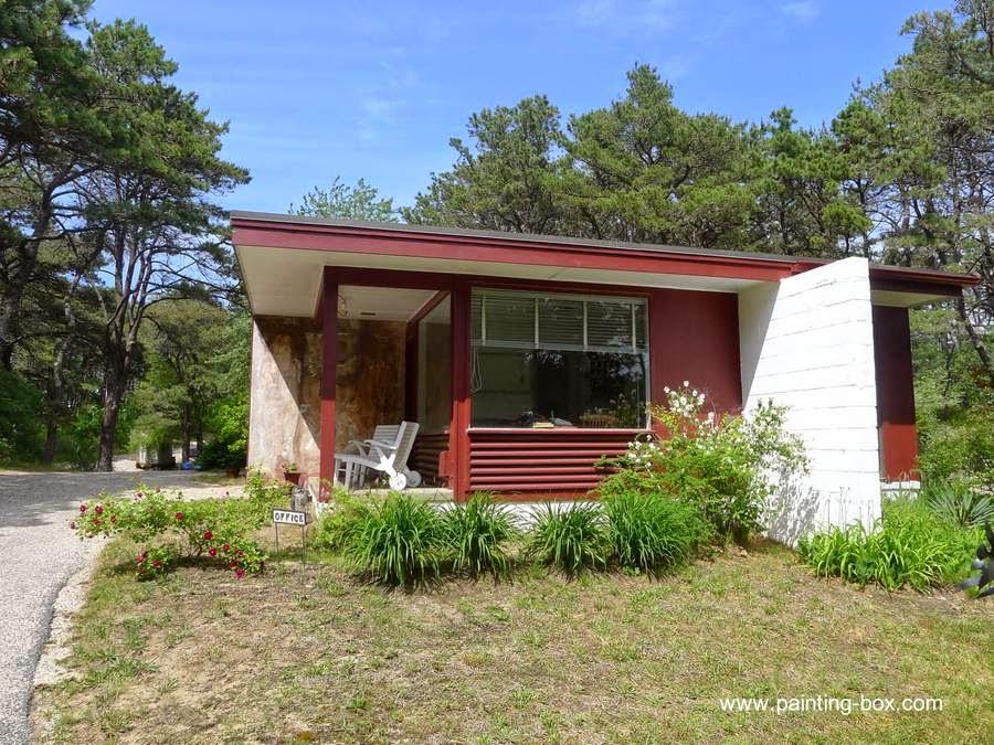 Cabaña diseño Bauhaus en Cape Cod