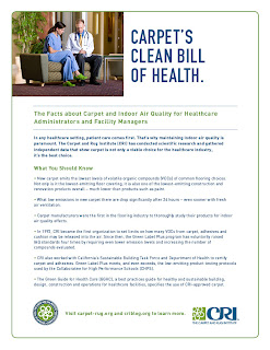 Indoor Air Quality Fact Sheet for Healthcare Administrators, Facility Managers