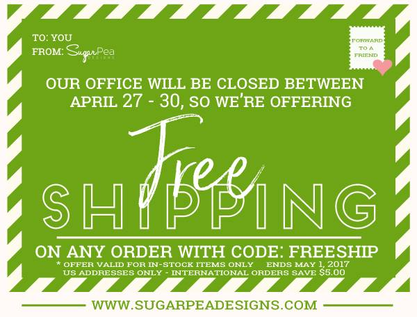 FREE SHIPPING AT SPD