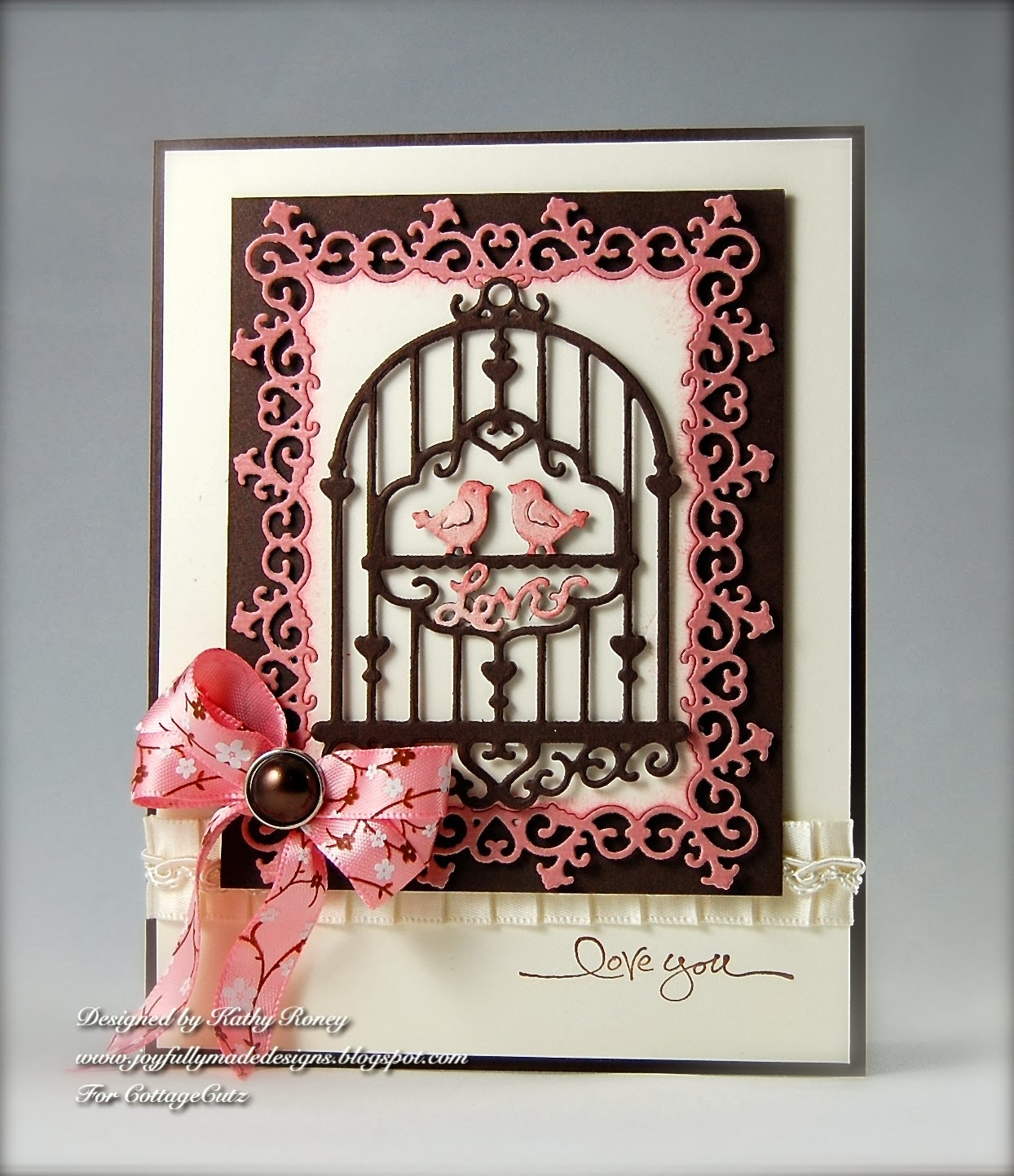 CottageBLOG: Sweet Love Birdcage & Frame