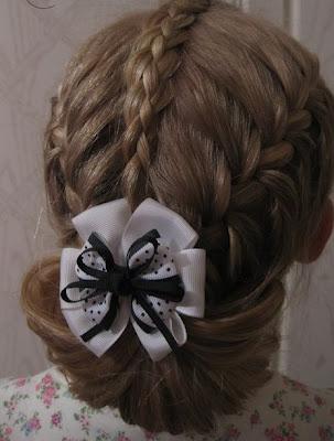 ***Nota Haz clic aquí peinado para niñas con trenzas y bisuteria