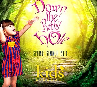 Kids Breakout - Down The Rabbit Hole Spring-Summer 2014