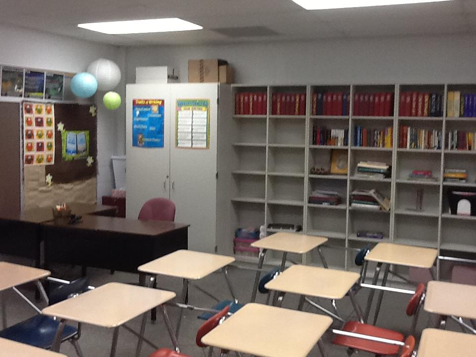 Modern English Classroom ~ Langenwalter living