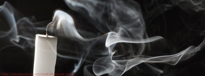 Couverture facebook fumée