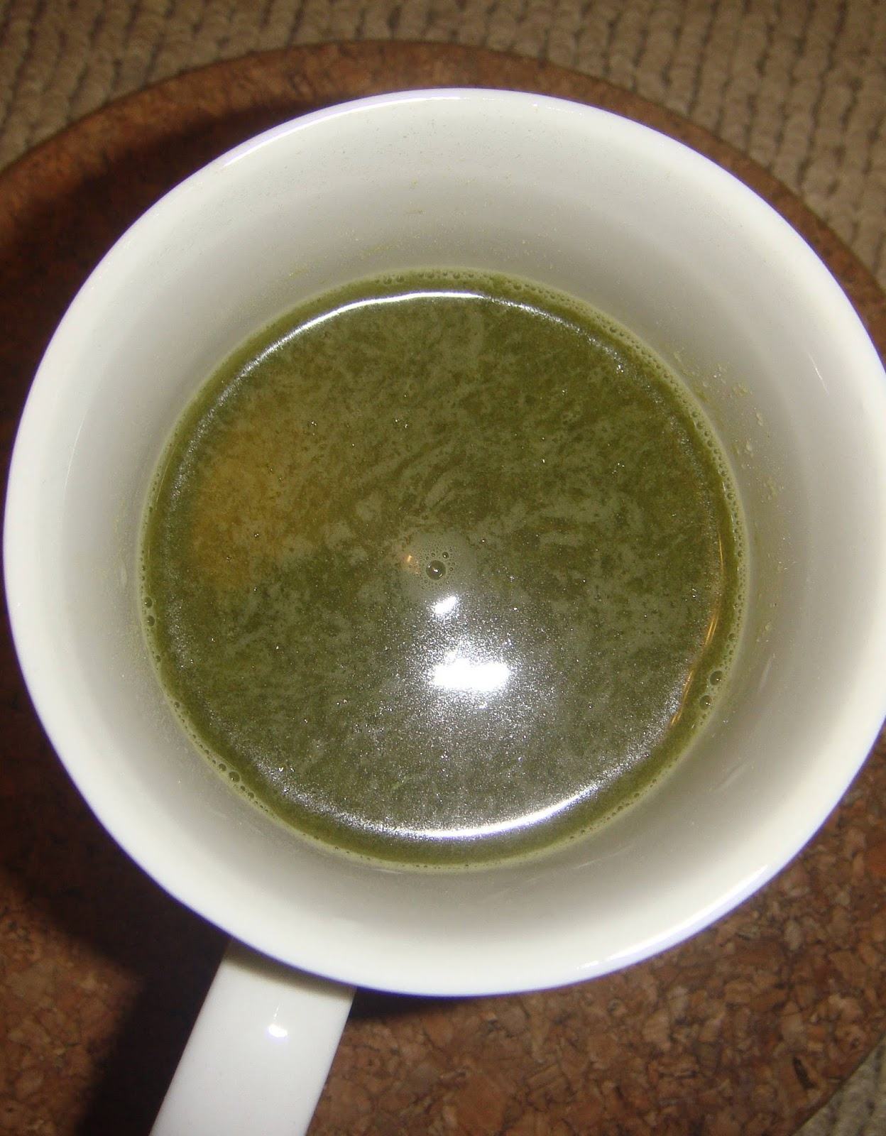 Supersupergirl's Food Reviews: Green juice