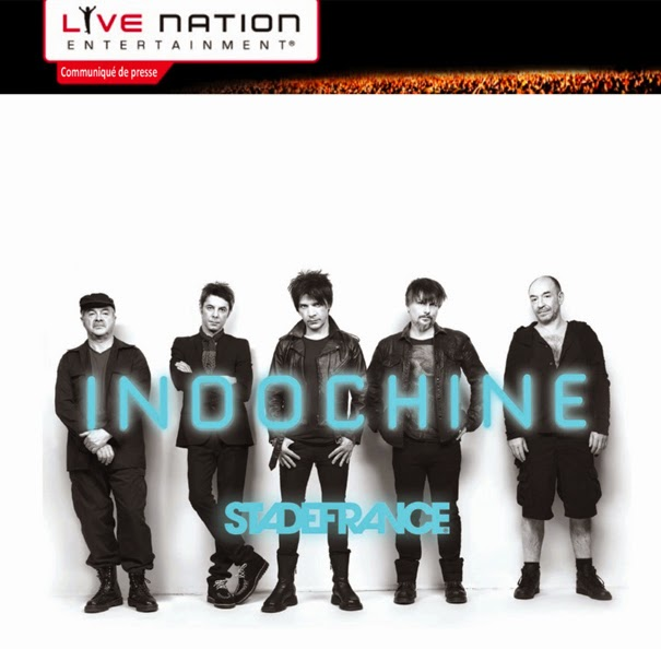 Comunicado de Prensa de Live Nation – Indochine en el Stade de France