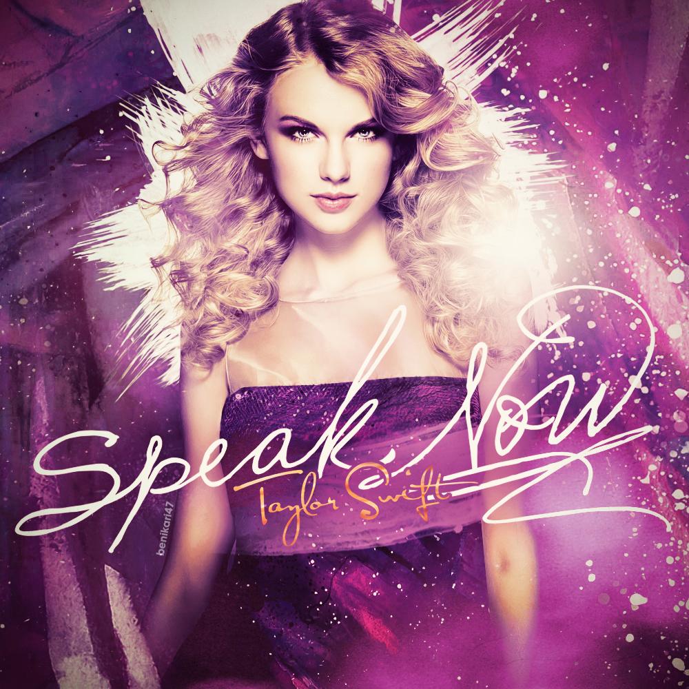 Benikari47's Graphics: Taylor Swift - Speak Now Cover