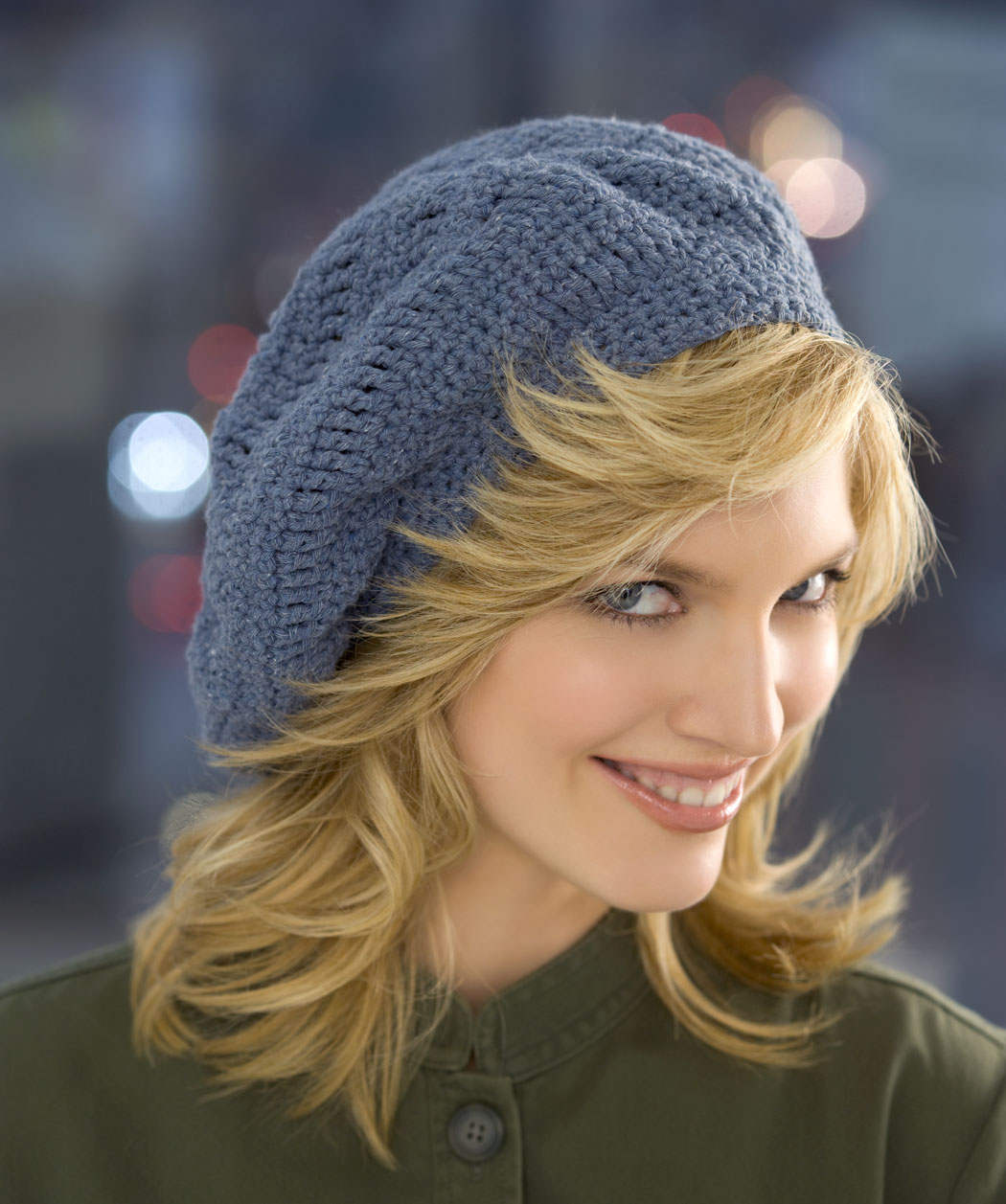 Free Crochet Beanie Beret Pattern : Hopeful Honey Craft, Crochet, Create: 10 Free Basic ...