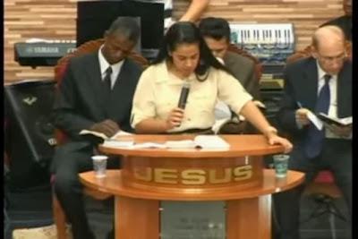 Pregação Dominical   Mis. Camila Barros