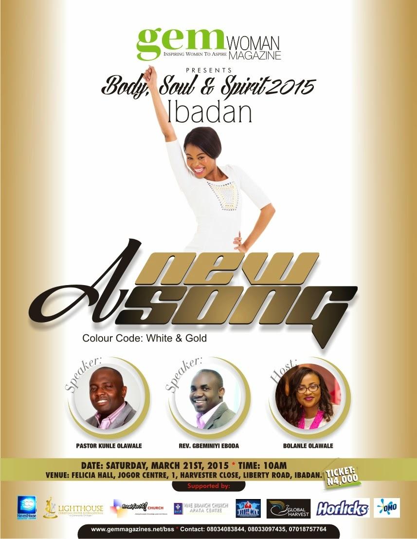 gem Publications Hosts Body Soul & Spirit In Ibadan