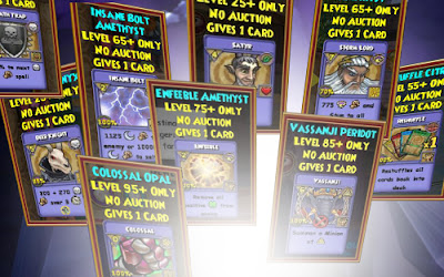 Wizard101 Card-Giving Jewel Guide