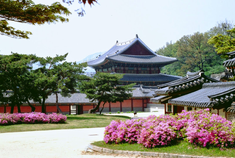 Vista parcial de el palacio de Changgyeonggung, en Seúl, Corea del Sur. Foto tomada de Yun Gratis F