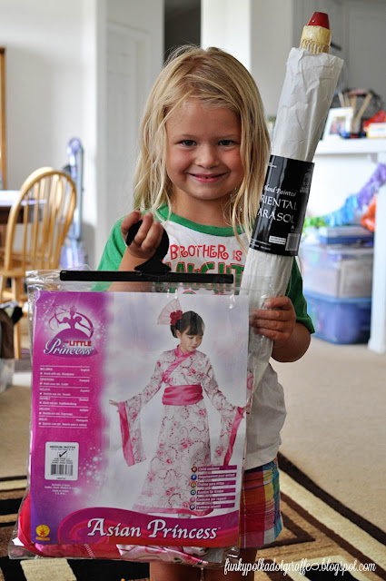 little girls mulan costume
