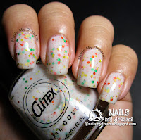 cutex vanilla with sprinkles cupcake collection swatch