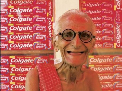 For Effective Results Switch to Colgate - Happy Tooth Brushing