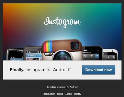 INSTRAGRAM, androir, release, link, download, instagram per android, android market, release