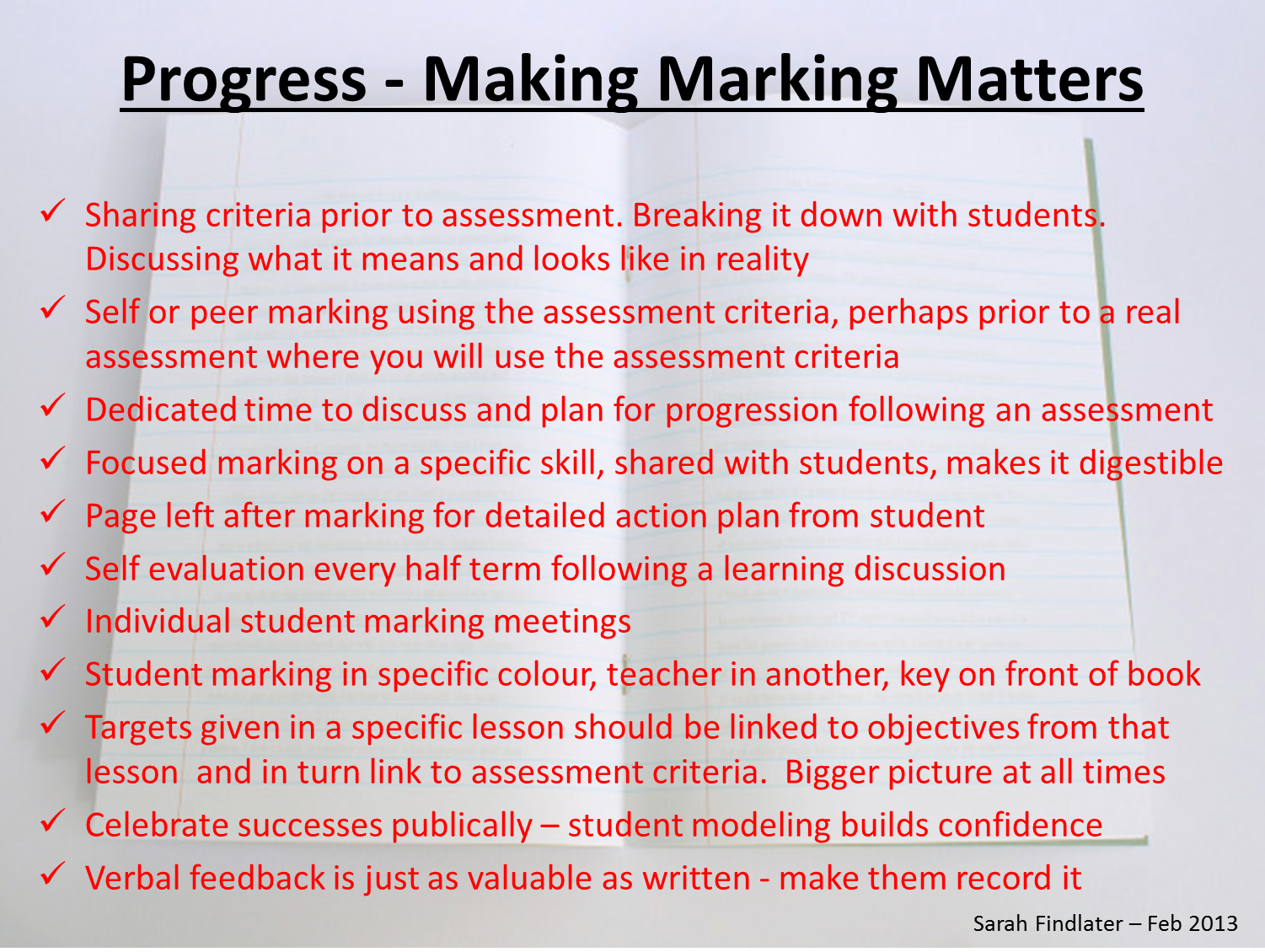 msfindlater s teaching blog unlocking the power of progress there are hundreds of wild and wonderful ways to check gauge or judge progress overtly in the lesson i can hear a few teachers at the back muttering