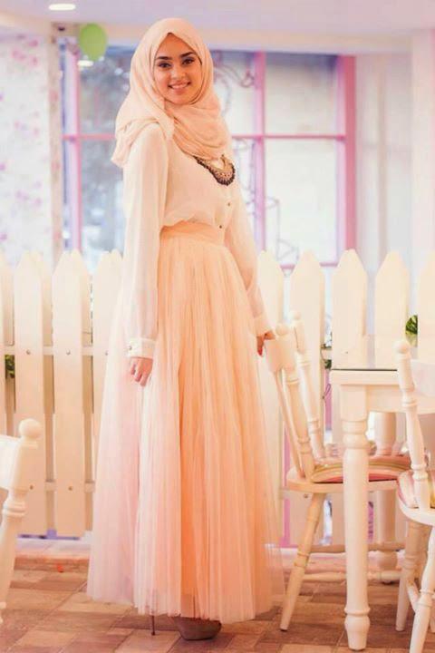 Robe soirée hijab 2014