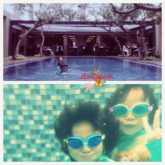 diving for kid,hotel Santika Bali