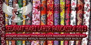 BerIndonesia Dengan Indonesia - Selamat Hari Lahir Pancasila