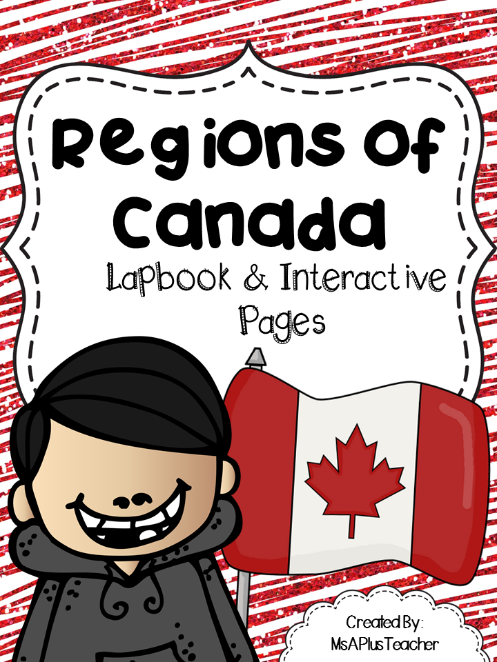 http://www.teacherspayteachers.com/Product/Regions-of-Canada-Lapbook-1614898