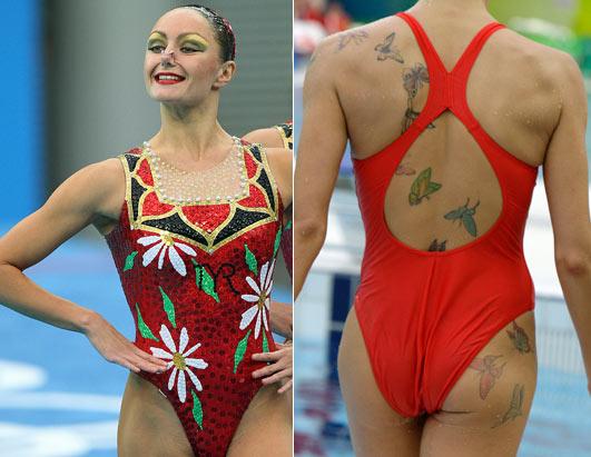 Sexiest Women Swimmers Alive 2012 Anastasia Davydova