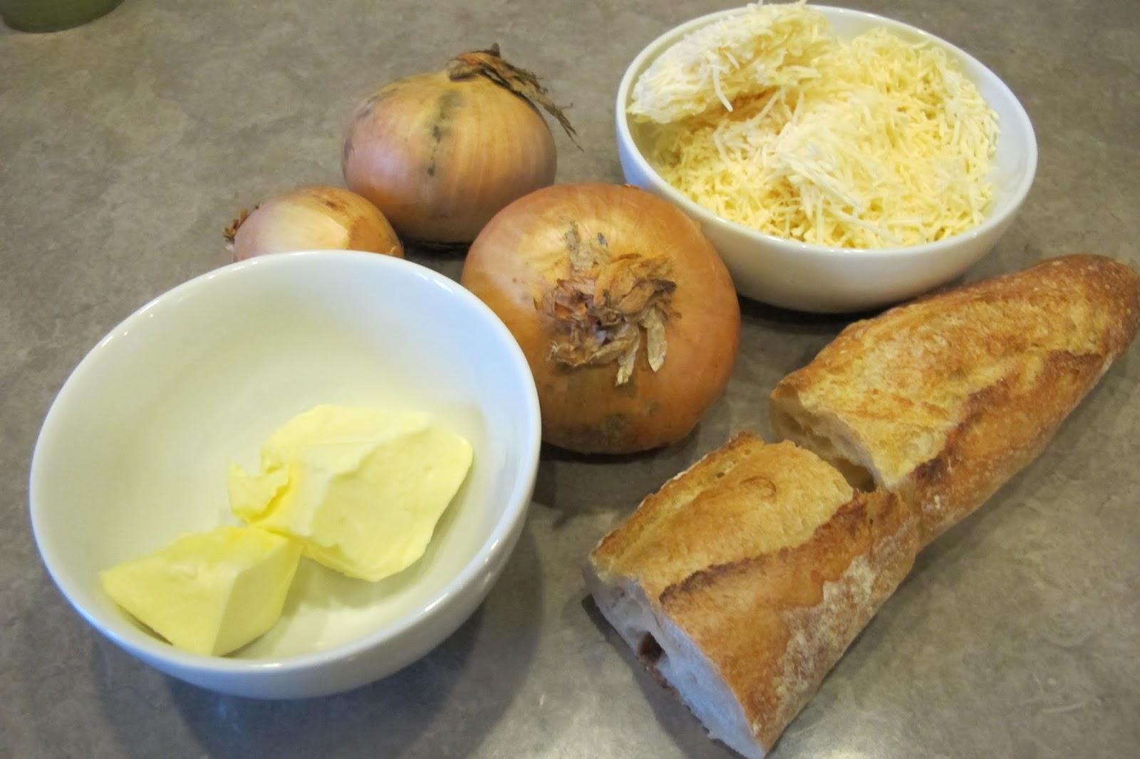 Soupe l 39 oignon gratin e le blog de cuisine en bouche - Soupe a l oignon gratinee ...