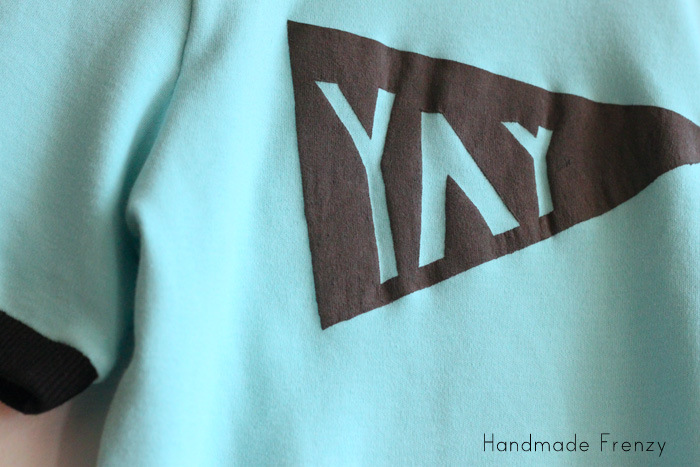 TUTORIAL: YAY Banner Tee - The Fashionable Type
