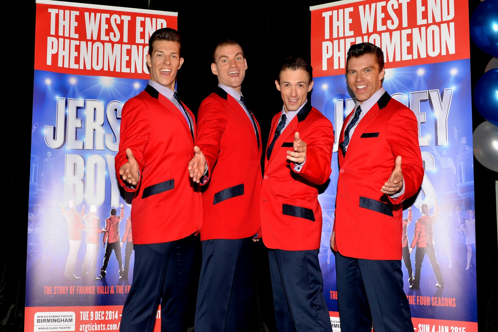 JERSEY BOYS UK tour Launch