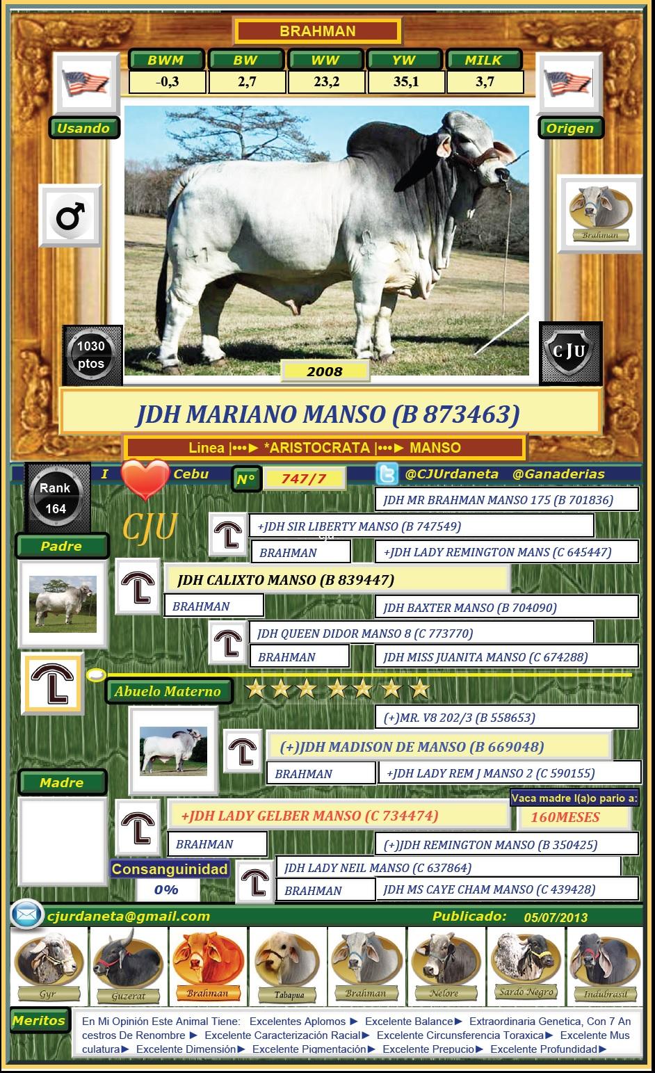 JDH MARIANO MANSO (B 873463)