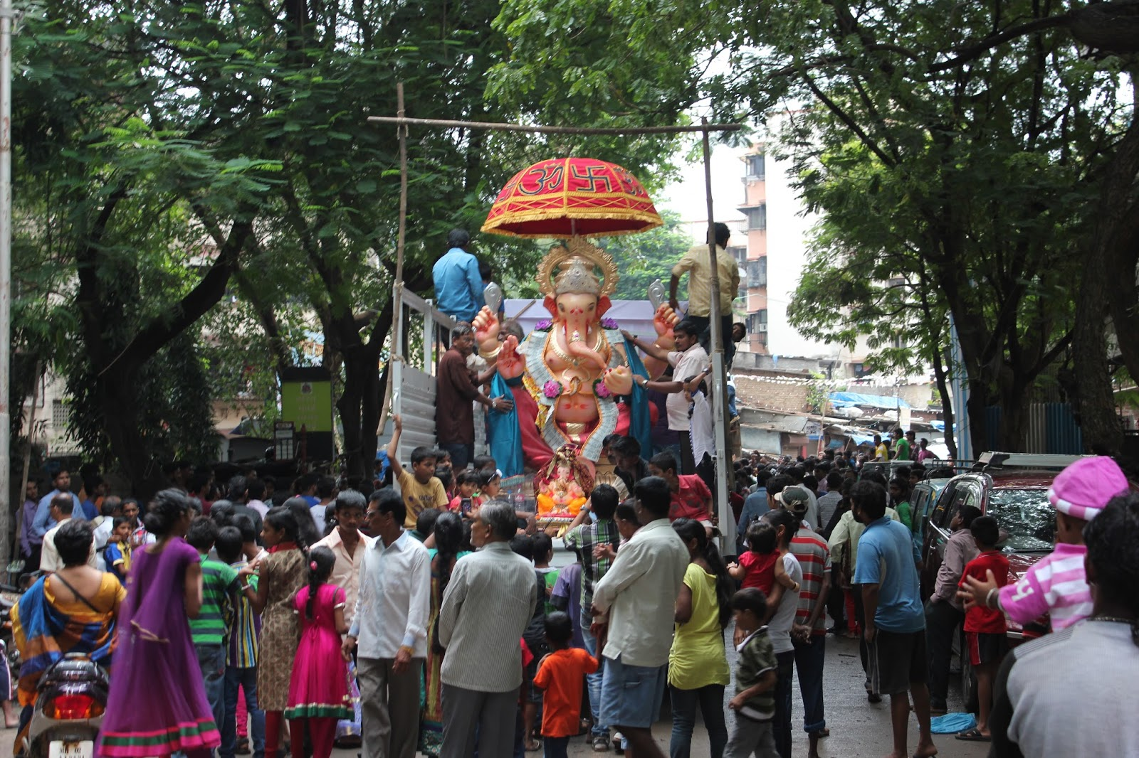This is the big Ganesha statue for